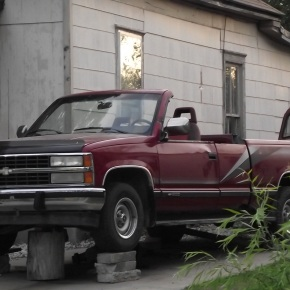 Chevrolet Cheyenne (Silverado)Convertible.