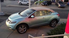 Nissan Murano CrossCabriolet 2012, un capricho muyradical.