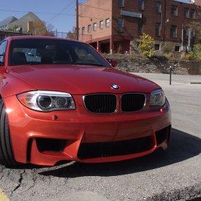 Rarezas circulando 11: BMW 1 Series M Coupe2011.