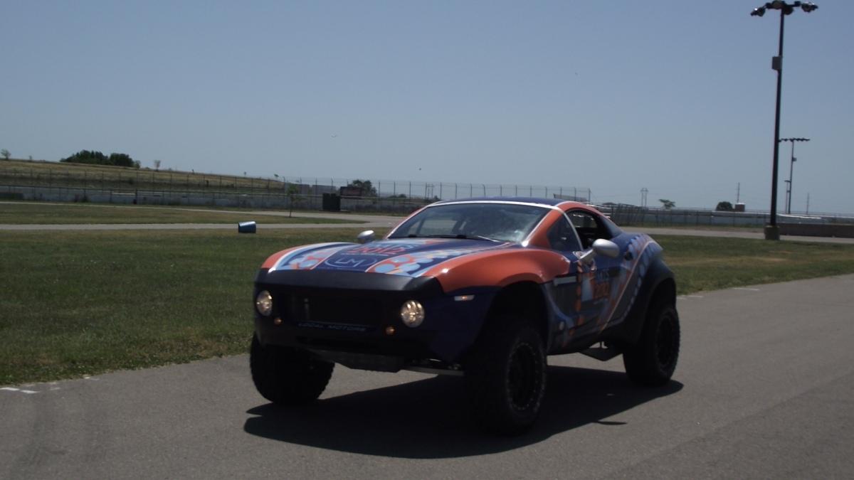 Local Motors Rally Fighter >> Local Motors Rally Fighter 2012: De todo un poco.   ALSRAC Productions
