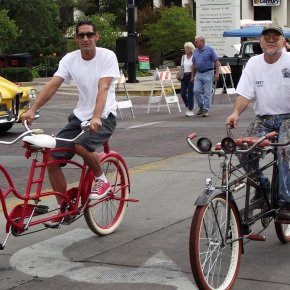Bicicleta doble, mitad decerebro.