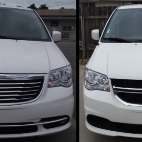 CM: Chrysler Town and Country y Dodge Grand Caravan 2013.