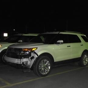 Las Ford Explorer blancas y su mala suerte enKansas.