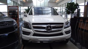 Mercedes Benz Clase GL 2013: MB adelante, BMWatras.