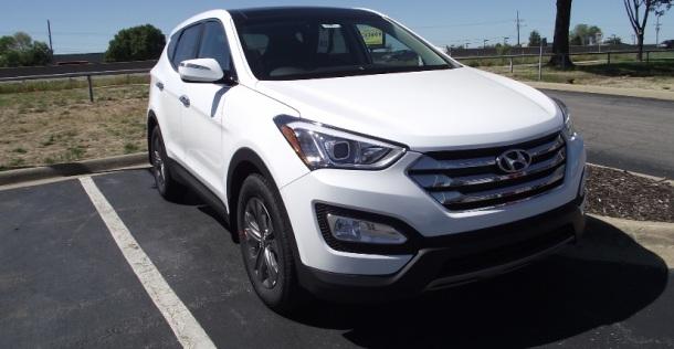 Hyundai Santa Fe Sport.