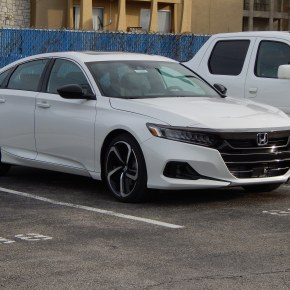 Mini Actualizada: Honda Accord 2021.