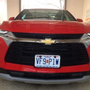 Manejando: Chevrolet Blazer 2LT2021.