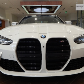 BMW M3 2021: Más dientón,imposible.