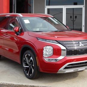 Mitsubishi Outlander 2022: Nissan decorazón.